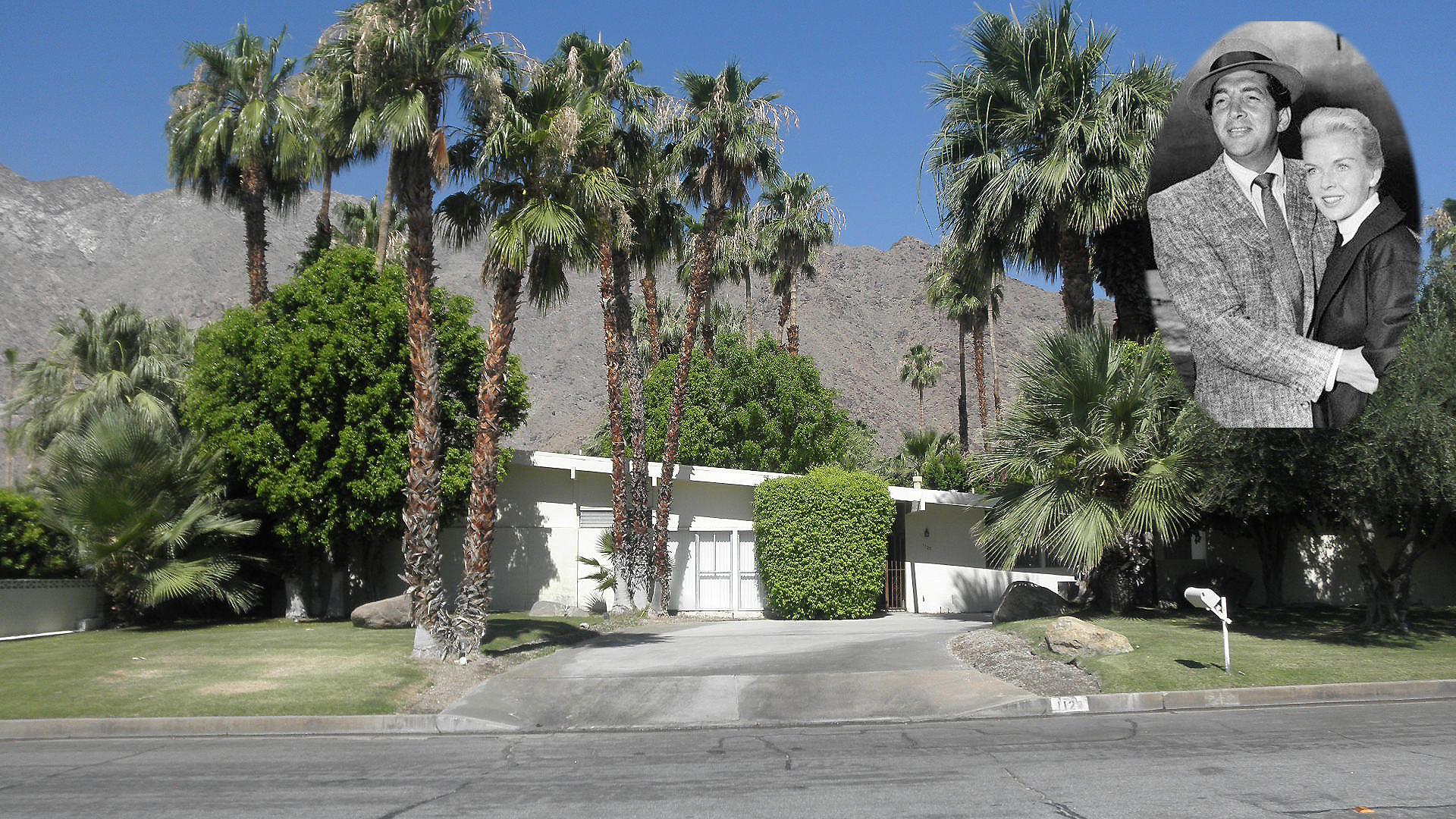 1123 north via monte vista palm springs home of dean for Palm springs celebrity homes